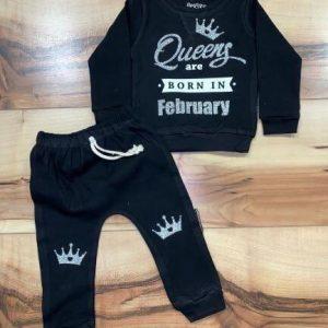 חליפת טרנינג – KING Queen are born