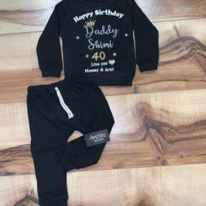 חליפת טרנינג – יום הולדת למשפחה גיל