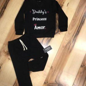 חליפת טרנינג – נסיכה של אבא
