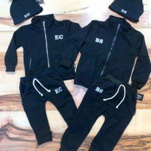 חליפת ג'קט שחורה