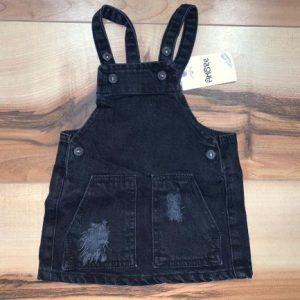 שמלת גינס – שחור