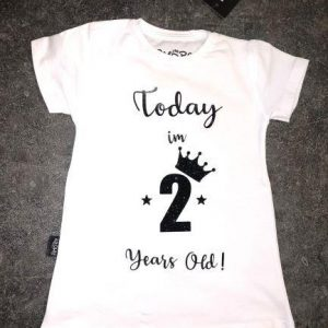Baby Birthday- Today I'M.. years old