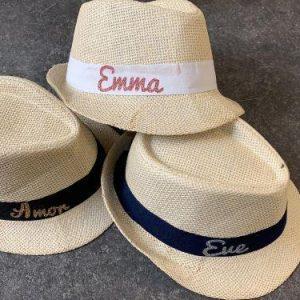 כובע קש -בעיצוב אישי